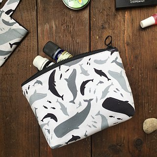 Waterproof - Taiwan travel painting square bag / storage bag