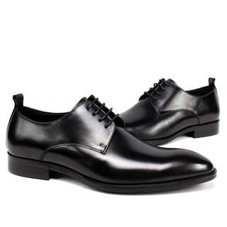 Sixlips V-Front simple yas rendering derby shoes black