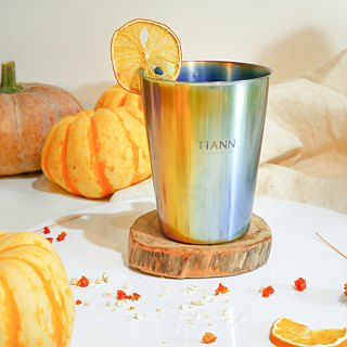 TiCup Titanium Beer Mug (Multicoloured)