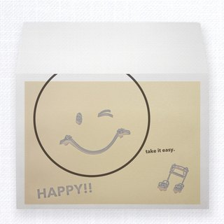 MIZUHIKI Greeting Card HAPPY SMILE