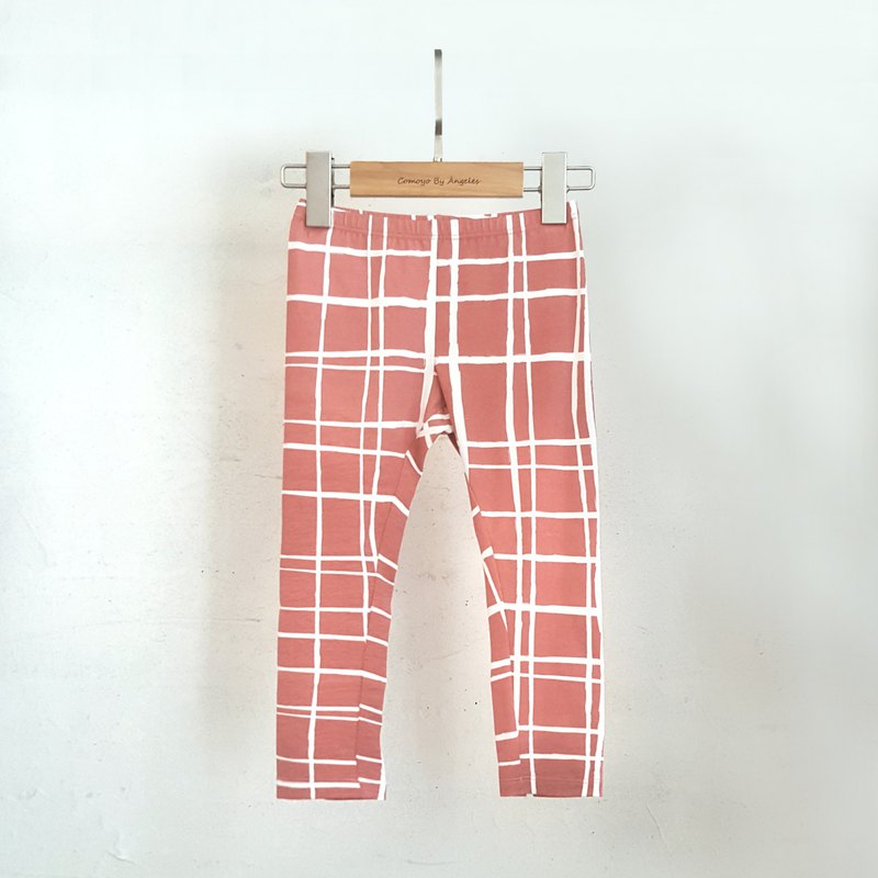 Comoyo-Big Girl - Plaid Print Leggings