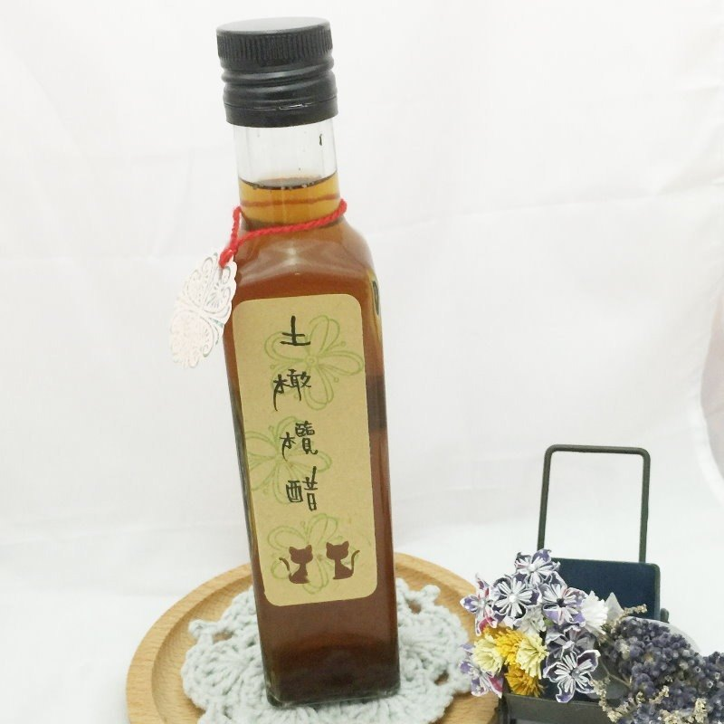 Natural handmade olive vinegar brewing soil ~