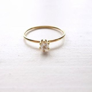 White Topaz Ring (a)