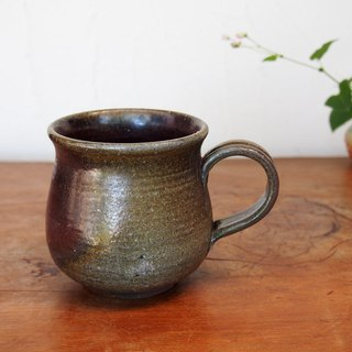 Bizen coffee cup (middle) c2-131
