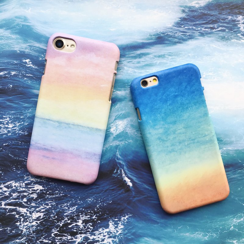 wave and the beach-phone case iphone samsung sony htc zenfone oppo LG