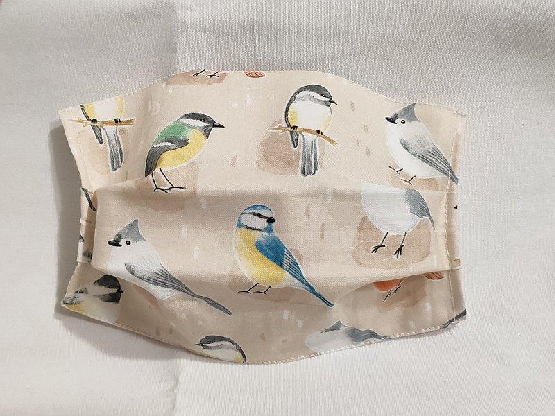 希望之鳥口罩套 米白款 (沒掛耳 內層需搭配拋棄式口罩使用)