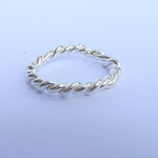 Braided and twist rings (2 pieces)