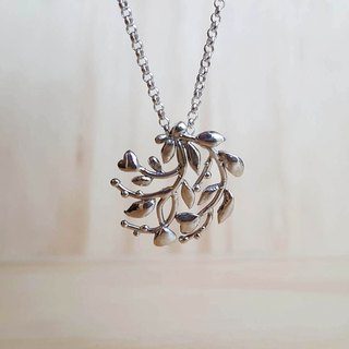 Happy Tree Silver Necklace