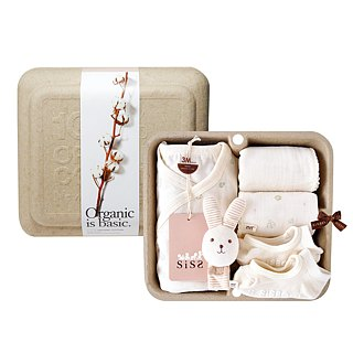 [SISSO Organic Cotton] Send you a small flower butterfly socks socks gift box 3M 6M