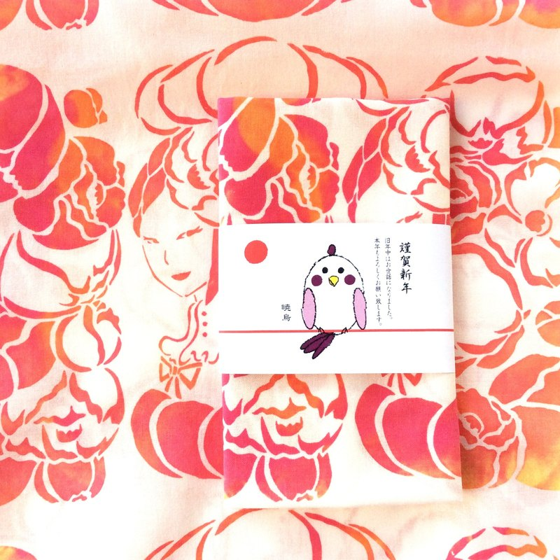 "tenugui towel ""Flower princess"""