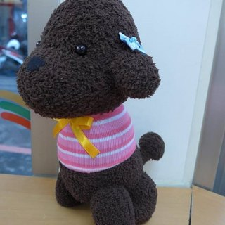 Happy 咩 咩. Hand made shop ~ your baby dog ​​doll