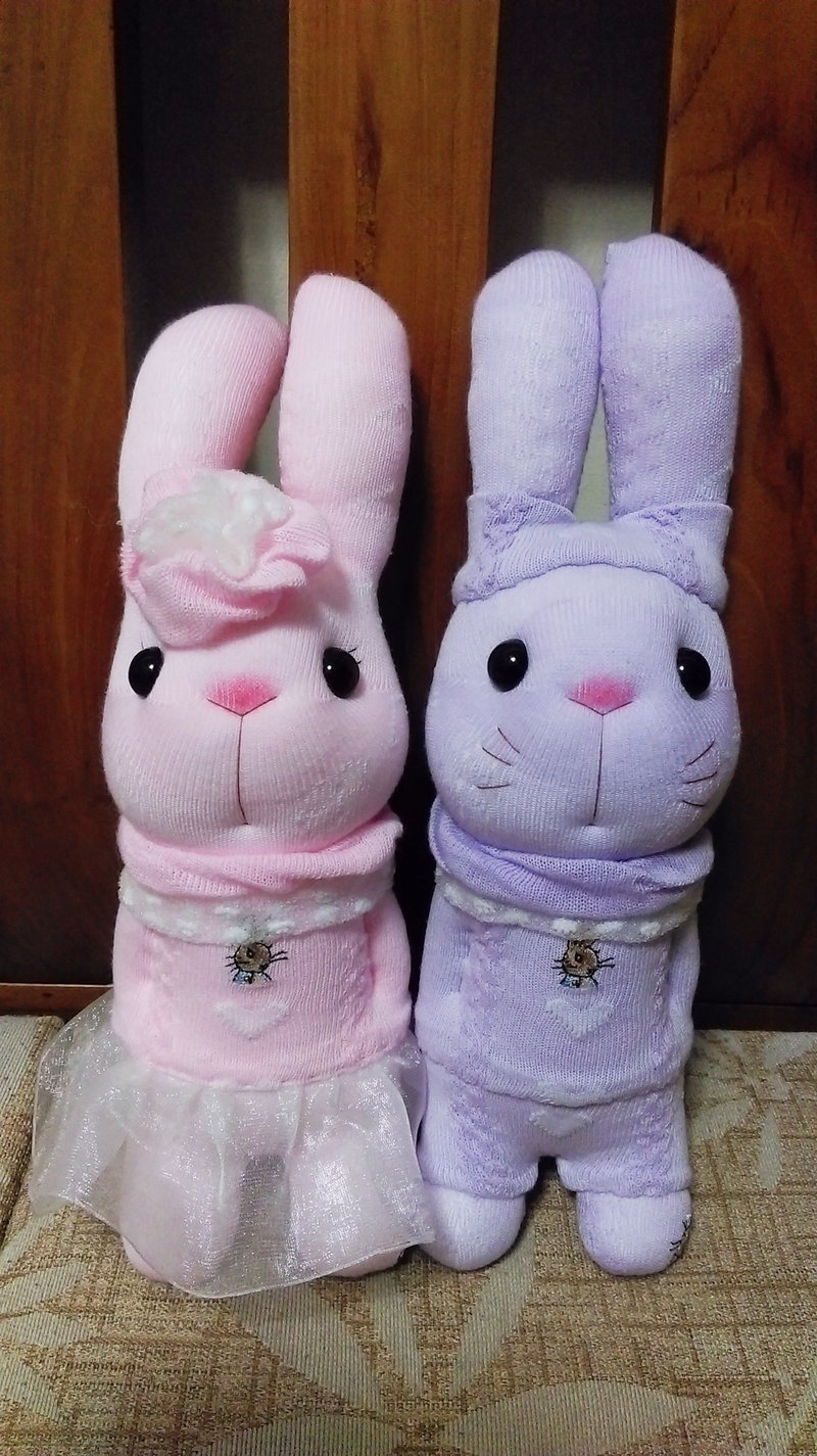 Fanny Rabbit Socks Doll / Customized / Martin's Handmade