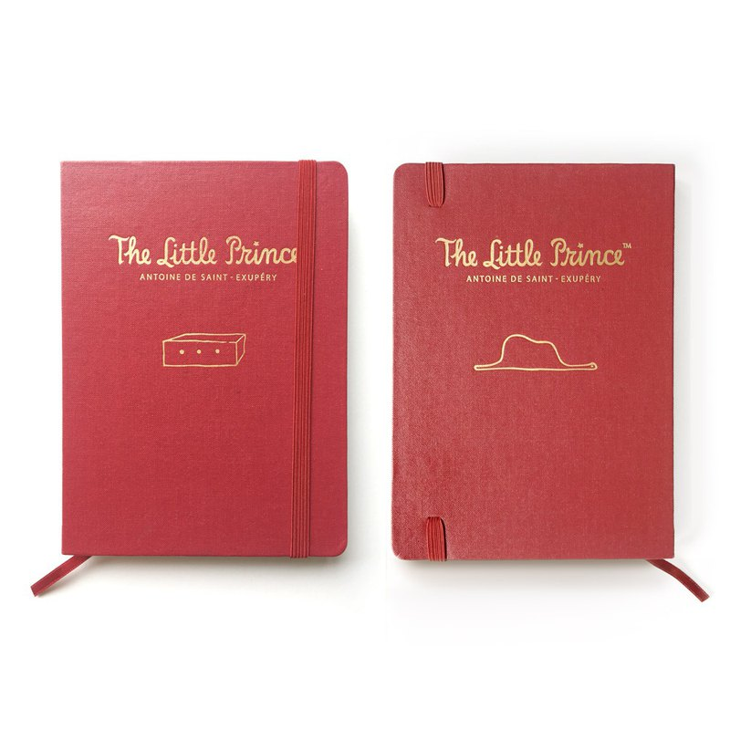 Display - Little Prince Perpetual Calendar V23 - Red / Imaginary Box (with straps), 7321-00421-Y1