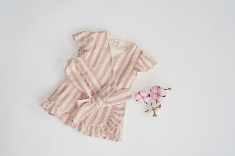 Beloved Girl Dress Hand Woven Cotton 100%,Natural Dyed