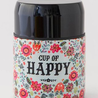 Stainless steel insulation / cold storage tank 17oz - Cup Of Happy ∣WB036