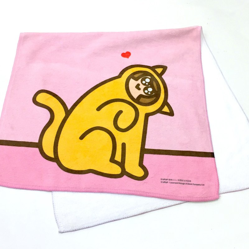 [UPUP placards villain] MEOW powder cat towel