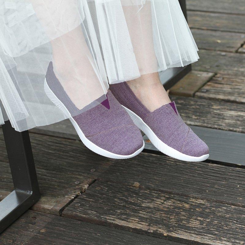 NETTA厚底舒適休閒鞋【紫色】