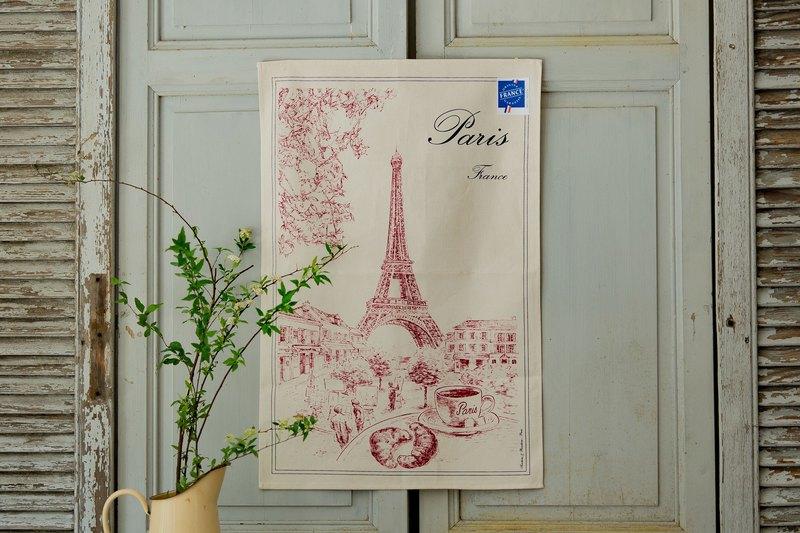 法國擦拭巾 / 古典艾菲爾掛巾