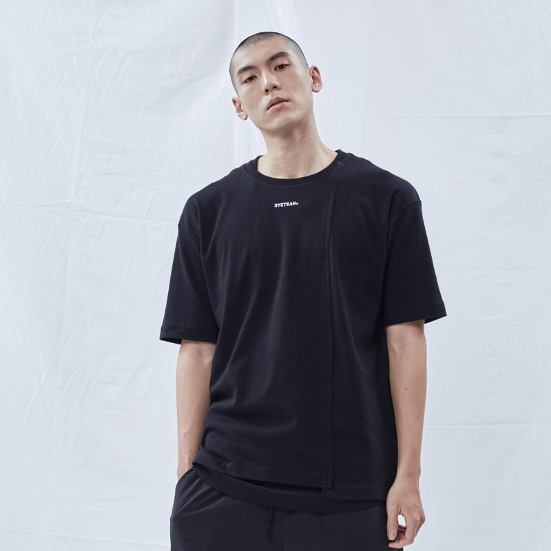 DYCTEAM - Asymmetrical Fifth Tee (Black)