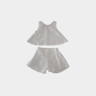 Textured Cotton Set (White)