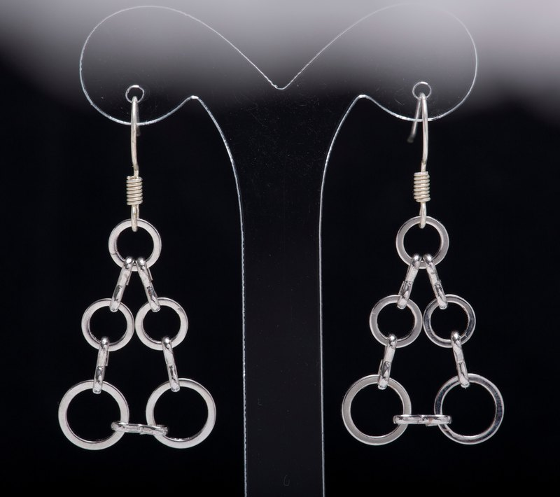 Clearance-E0106-Own Design-Fashion Sensitive Metal Earrings