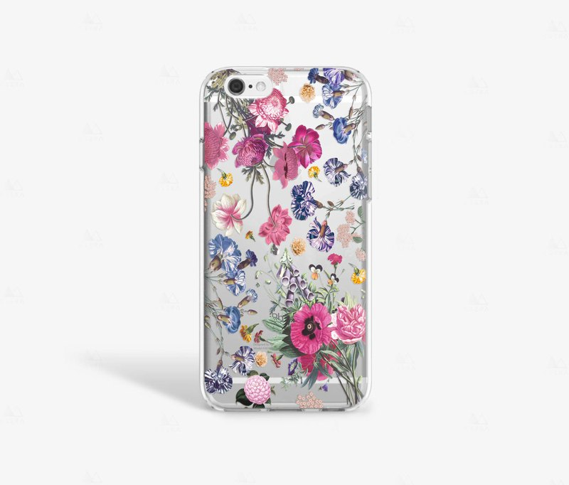 Floral iPhone 8 Case Clear iPhone 7 Case Clear iPhone 7 Plus Clear Case