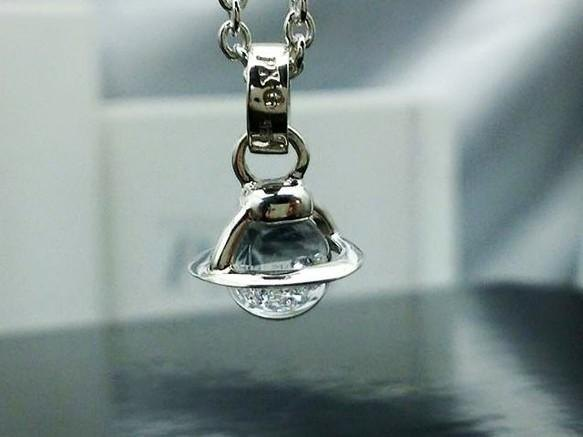 Saturn Baby Pendant Clear Color
