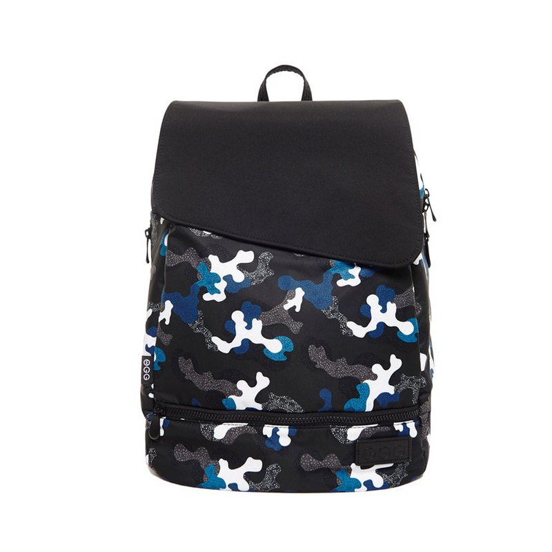 Neutral backpack dad bag mom bag computer bag black and white fashion bag antler forest blue