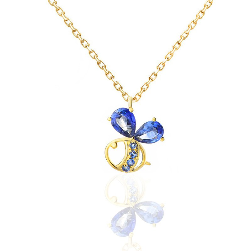 [brilliantia] 10K Blue Bee Series - Necklace B-(PT0295)