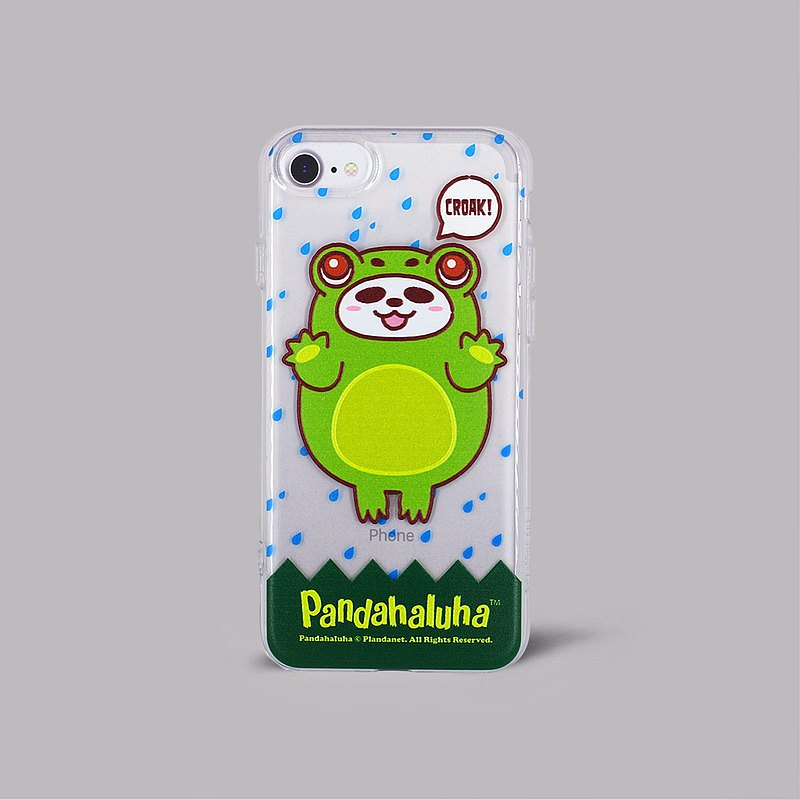 Pandahaluha soft plastic transparent phone case (iphone7/8)