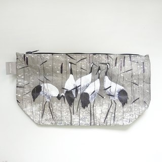 German Paprcuts.de wash bag (red-crowned crane)