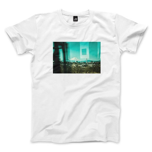 The memory of Mount Fuji - White - neutral T-shirt