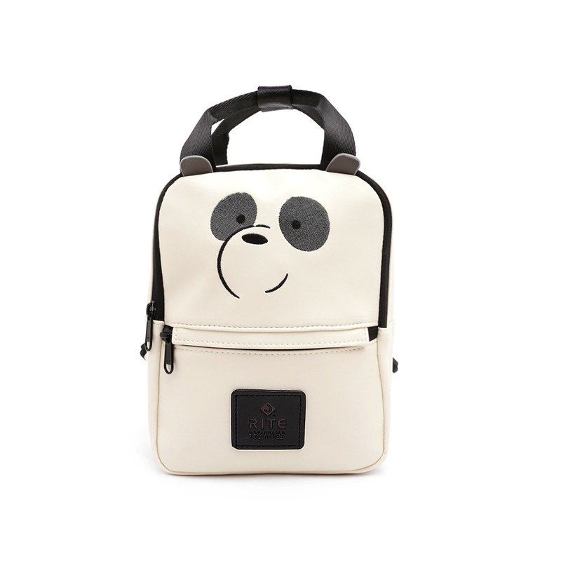 RITEx bears you to meet the tide joint name V3 dual-use small backpack - styling giant panda (femata)