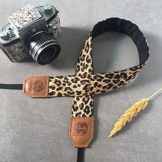 Leopard Mirrorless or DSLR Camera Strap