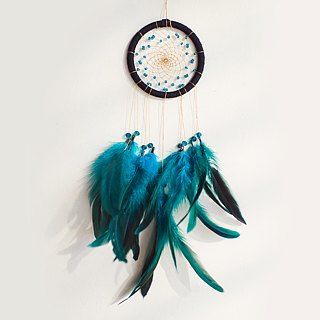 Dream Catcher 10cm - Low-key black gold (exclusive design) - home ornaments, birthday gifts