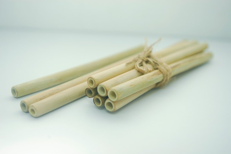 Yuanqi bamboo straw (six groups) - you have reduced plasticity