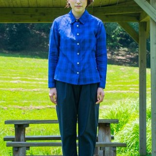 女用格紋襯衫 LADIES SHIRT CHECK bansyuori