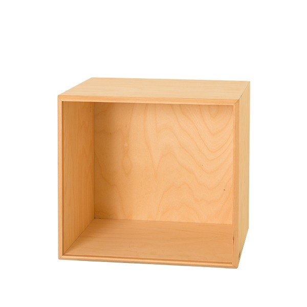 Storage. Small nest storage box (single box) (natural wood color)-[love door]