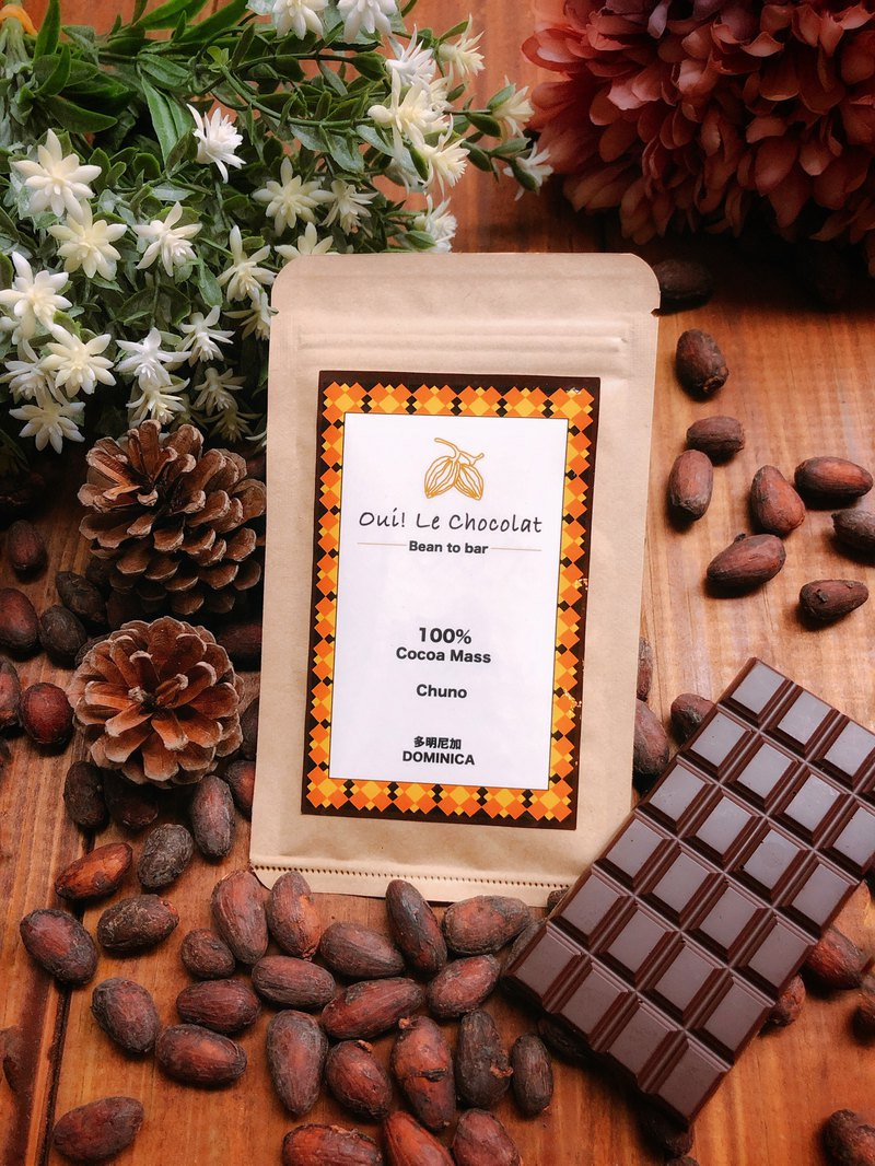 Mr. Chocolate's single-region boutique chocolate bean to bar series 100% cocoa paste