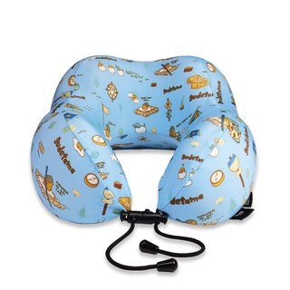 Murmur Rolling Neck Pillow / Egg Yolk Camp NP014