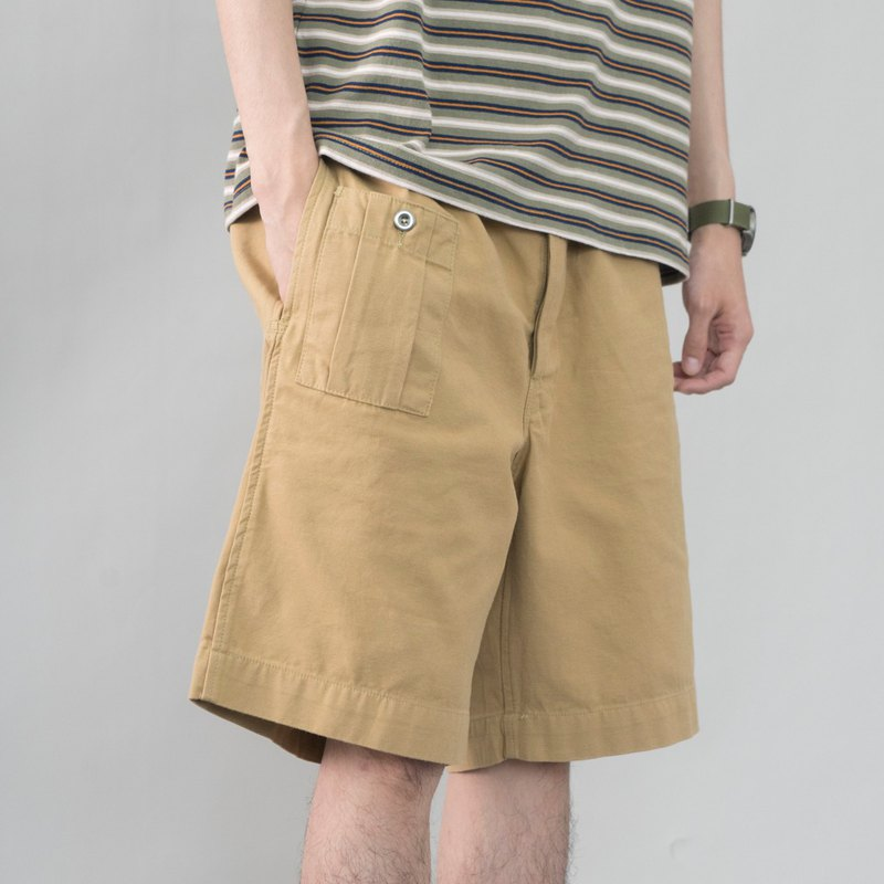Japanese match summer British KD khaki shorts 1941 men Gurkha Gurge Bermuda pants