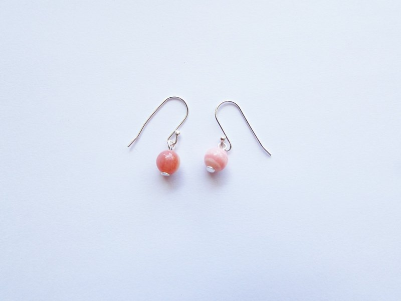 Candy-pink Earring