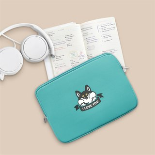 I LOVE YOU Shiba, Laptop Sleeve 15 Inch, Macbook Air 11 Inch Case, Macbook Pro 1