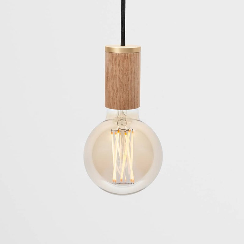 Turn me on oak chandelier | tala