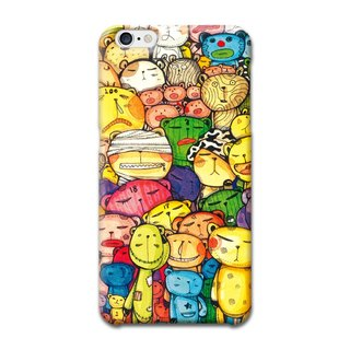 (Spot) afu illustrator phone case - iPhone6 ​​/ 6s - When we are together