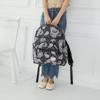 Orderly and elegant into the 【large storage】 large back - Paisley