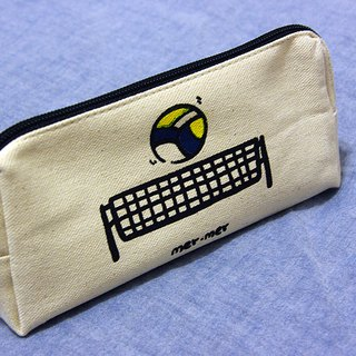 Volleyball pencil case