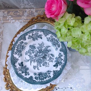 Britain Wedgwood 1930 indigo series cake plate snack plate fruit plate porcelain plate plate inventory