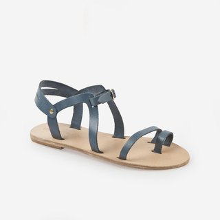 {Love from Cyprus} {Showcase Clear} Dark Blue Santorini Wind Sandals EU39 (with technical map)