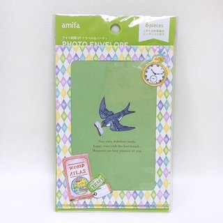 Amifa Photo Frame Envelope 6 Into [Travel (34677)]